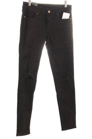 "H&M Skinny Jeans ""Super Skinny High Waist"" schwarz"