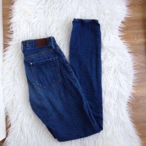 H&M Skinny Jeans W 27 L 32 Used Blau Dunkelblau S