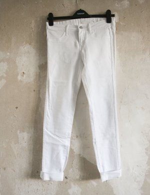 H&M Skinny Jeans weiß