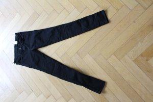 H&M Skinny low waist schwarz 26/32