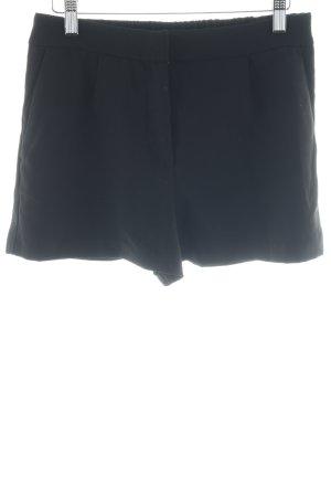 H&M Skorts schwarz Elegant