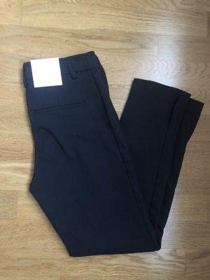 H&M Slacks 38 schwarz Ankle Business Look
