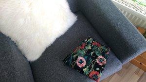 H&M Slacks mit Mohnblumenprint