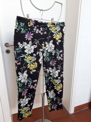 HM 7/8 Length Trousers multicolored mixture fibre
