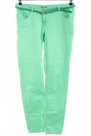 H&M Vaquero slim verde look casual
