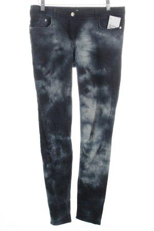 H&M Slim Jeans Batikmuster Casual-Look