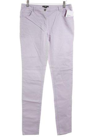 H&M Slim Jeans blasslila Casual-Look