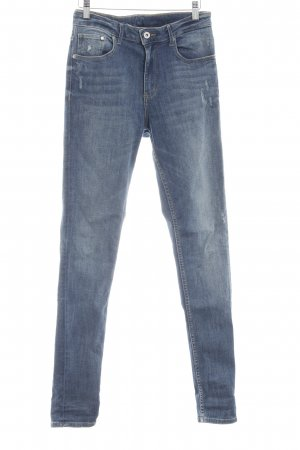 H&M Slim Jeans blau Casual-Look