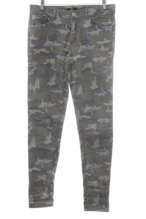 H&M Slim Jeans Camouflagemuster Casual-Look