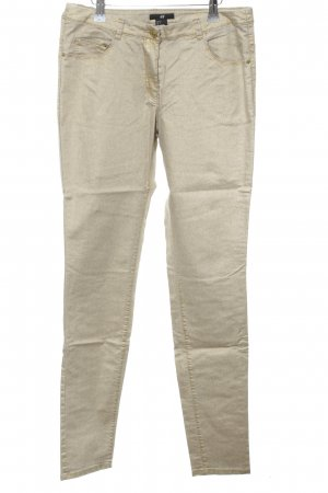 H&M Slim Jeans cream casual look