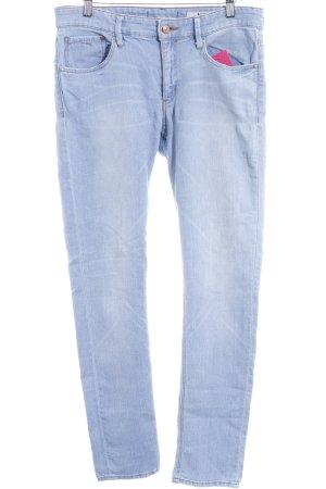 H&M Slim Jeans hellblau Jeans-Optik