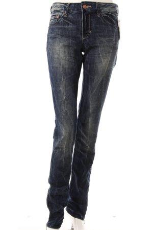 H&M Slim Jeans mit Reißverschluss