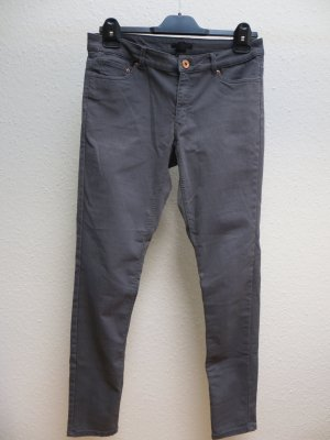 H&M Drainpipe Trousers grey
