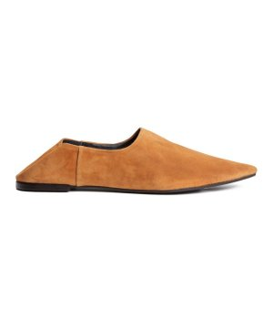 h&m Slip in Loafer/Babouches/Slipper/Mules 36 NEU Leder &otherstories cos