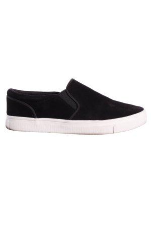 H&M SlipOn Schuhe schwarz