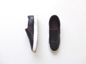 H&M Slipper Gr. 39 Slip ons trend lila aubergine