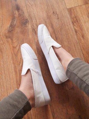 H&M Slipper Loafer Schlüpfsneaker weiß Gr. 36