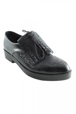H&M Slipper schwarz Business-Look