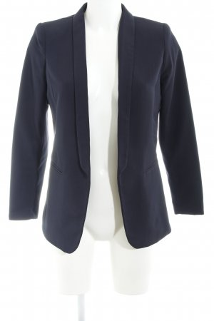 H&M Smoking-Blazer dunkelblau Business-Look