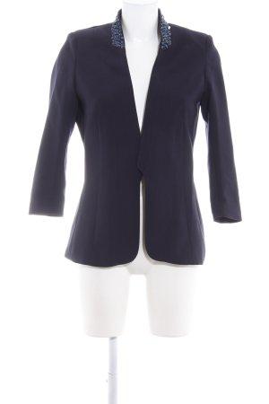 H&M Smoking-Blazer dunkelblau Elegant