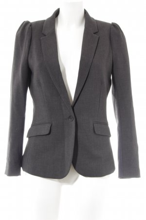 H&M Blazer smoking grigio scuro stile professionale