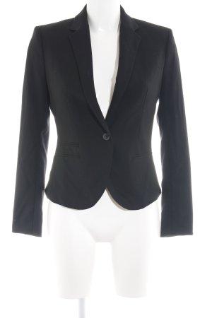 H&M Tuxedo Blazer black business style
