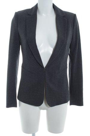 H&M Smoking-Blazer grau-schwarz Hahnentrittmuster Business-Look