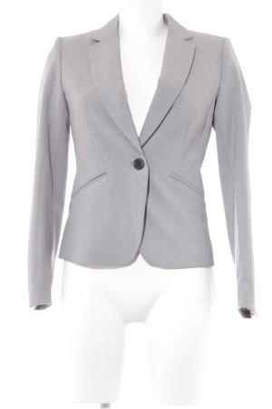 H&M Blazer de esmoquin gris claro moteado estilo «business»