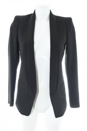 H&M Smokingblazer zwart zakelijke stijl