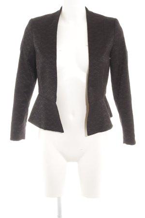 H&M Smoking-Blazer schwarz Ikatmuster klassischer Stil