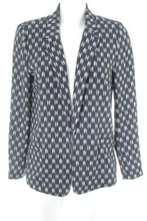 H&M Smoking-Blazer schwarz-weiß Allover-Druck Casual-Look