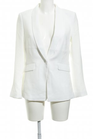 H&M Smokingblazer wit zakelijke stijl