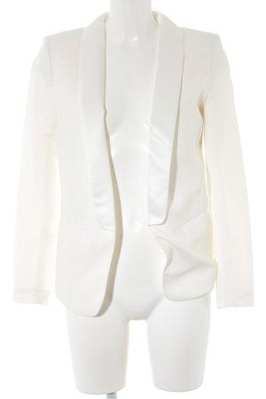 H&M Blazer de esmoquin blanco puro estilo «business»