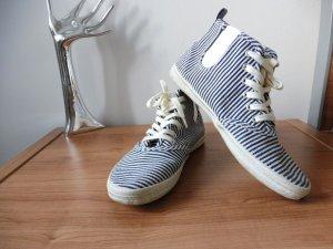 H&M sneaker 39 turnschuhe stoff textil schuhe