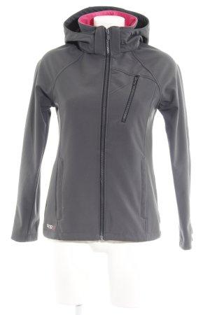 H&M Softshelljacke grau schlichter Stil