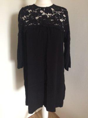 H&M Sommer Kleid 36 S neu schwarz Spitze Lace