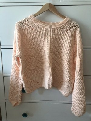 H&M Sommer Pulli Pullover S 36 peach apricot