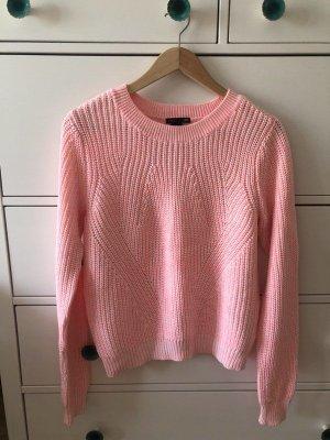 H&M Sommer Pulli rosa pink Pullover 36 S neu