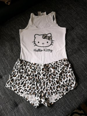H&M Sommer shorty Schlafanzug gr M Hello Kitty