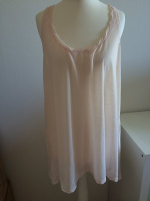H&M Sommer Top L 40 neu beige nude offwhite Oversized Basic