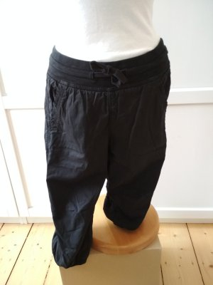 H&M Sommerhose Gr. 36 Trainingshose schwarz Sporthose 3/4-Hose