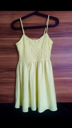 H&M Sommerkleid Gelb