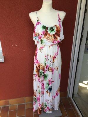 H&M Sommerkleid gr S mit Blumen Maxi