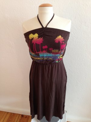 H&M Halter Dress multicolored cotton