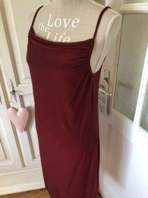 H&M Sommerkleid tolles Rot Schimmer