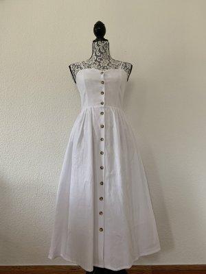H&M Sommerkleid Weiß Gr. 34 NEU !!