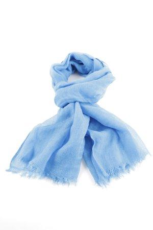 H&M Sommerschal blau Business-Look