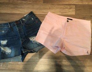 H&M Short moulant bleu-rose clair