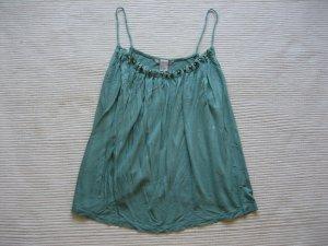 H&M Haut à fines bretelles turquoise