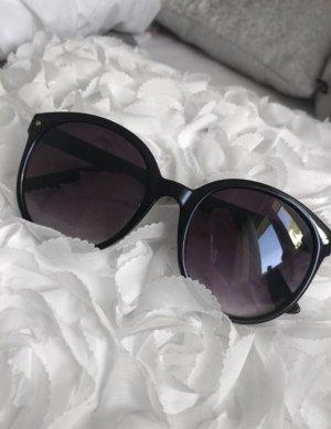 H&M Round Sunglasses black
